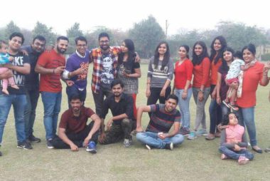 Corporate picnic in Gurgaon for accenture